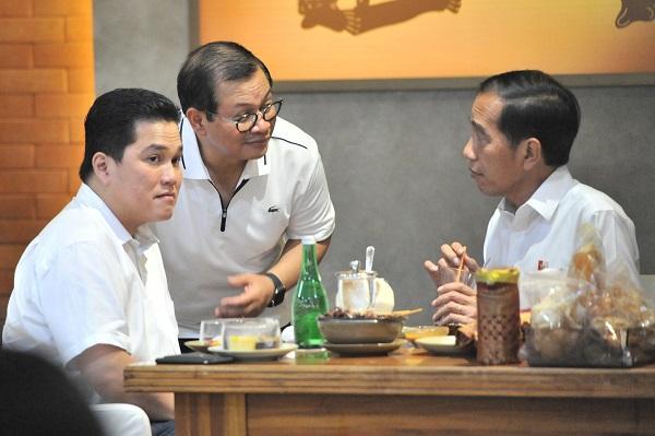 Akan Berlanjut, Seskab: Pertemuan Presiden Jokowi-Prabowo Tidak Ada Syarat Apapun