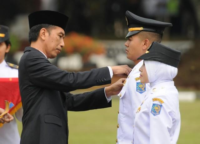Presiden Jokowi Minta Pamong Praja Muda Berani Lakukan Terobosan