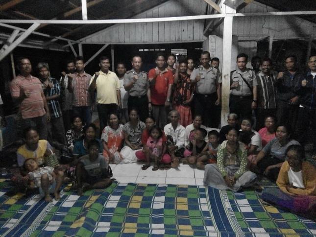 Polsek Kutalimbaru Sosialisasikan Bahaya Narkoba dan Bentuk PAM Swakarsa di Desa Kutalimbaru