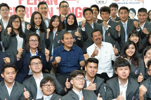 Berantas Korupsi, Gubsu Ajak Mahasiswa Tanamkan Kejujuruan dan Intergritas