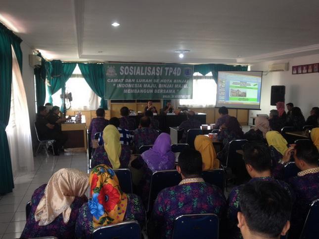 TP4D Disosialisasikan di Kota Binjai