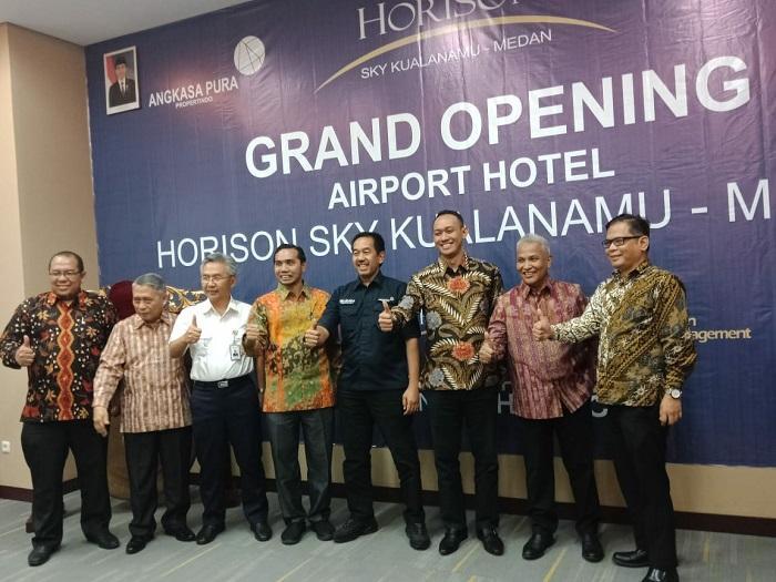 Hotel Horison Sky Milik PT Angkasa Pura II Resmi Dilaunching di Bandara Kualanamu
