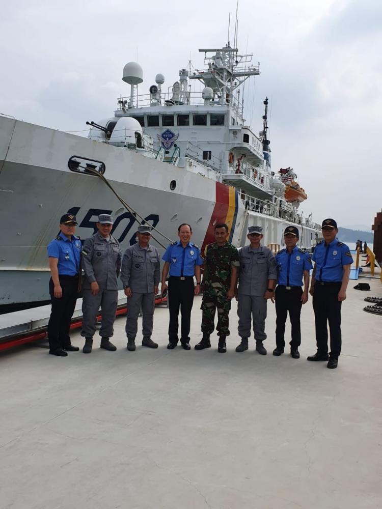Bakamla RI dan Korea Coast Guard Kuatkan Kerja Sama Bidang Capacity Building