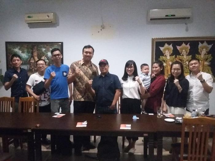 Edy Ikhsan Gelar Reuni Bersama Millenial Tionghoa