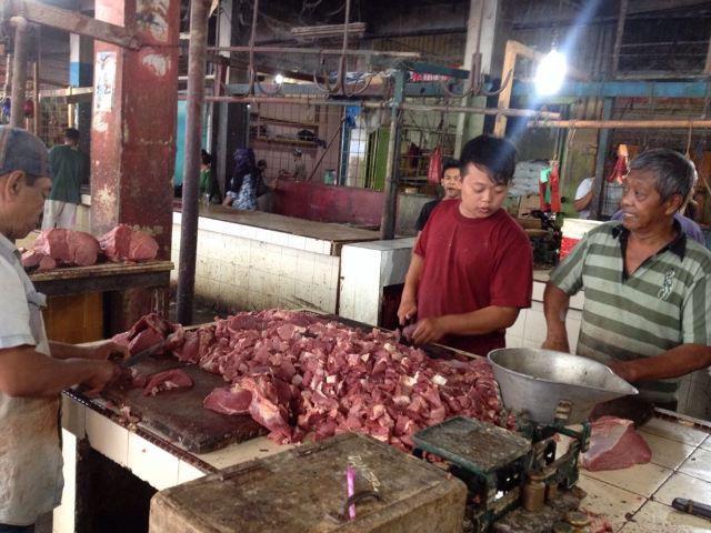 Jelang Idul Adha Harga Daging Sapi di Binjai Melonjak