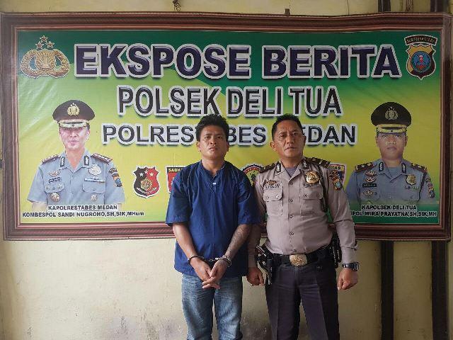 Hobi Mabuk, Sihotang Pukul Tukang Becak di Warung Simpang Pos Medan
