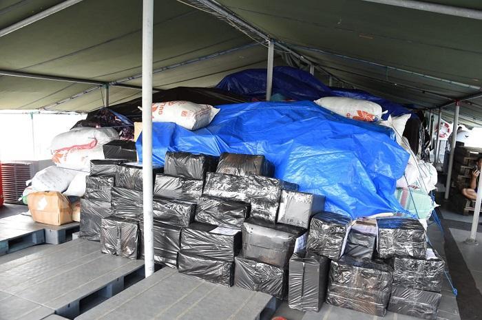 58 Ton Lebih Bantuan Kodam VI/Mlw Untuk Korban Gempa Tiba di Lombok