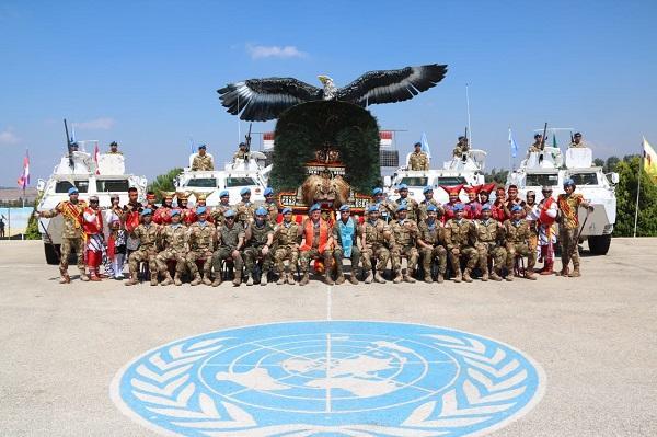 Komandan UNIFIL: Profesional dan Loyalitas yang Tinggi Cerminan Prajurit Satgas Indobatt