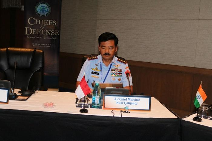 Chief of Defense Conference 2018, Panglima TNI: Ciptakan Keamanan Regional Indo-Pasifik