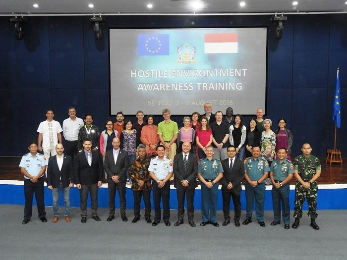 PMPP TNI Latih Diplomat Uni Eropa