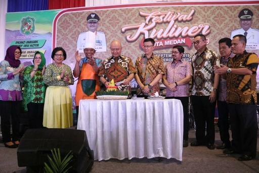 Wali Kota Harapkan Pengusaha Kuliner Tak Gunakan Penyedap di Festival Kuliner Medan Tahun 2019
