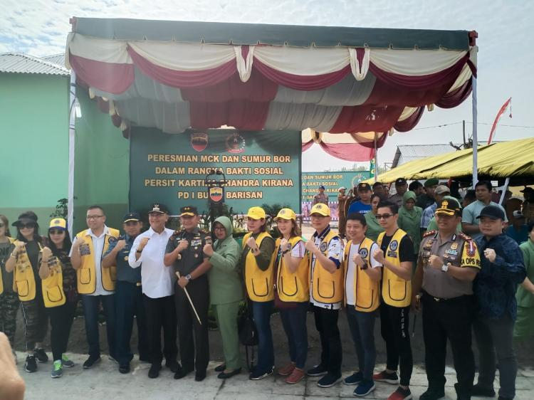 Pangdam Resmikan Fasilitas Umum di Medan Utara