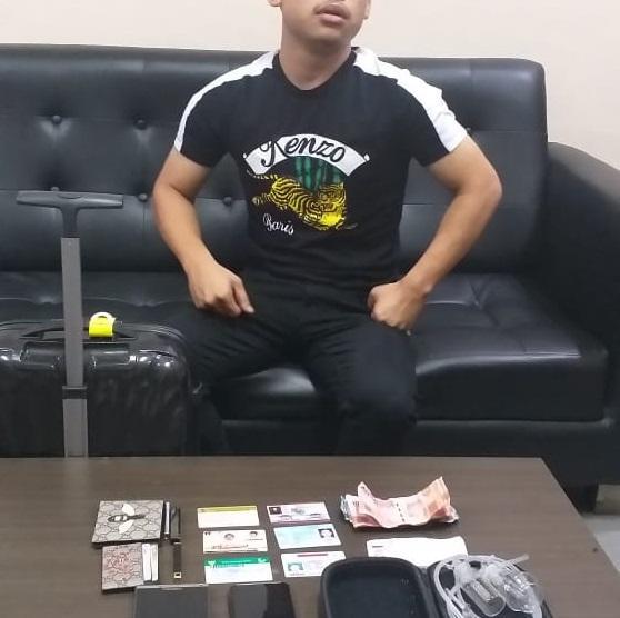 FH Anggota DPRD Padang Sidempuan Kedapatan Bawa Bong Sabu di Bandara Kualanamu