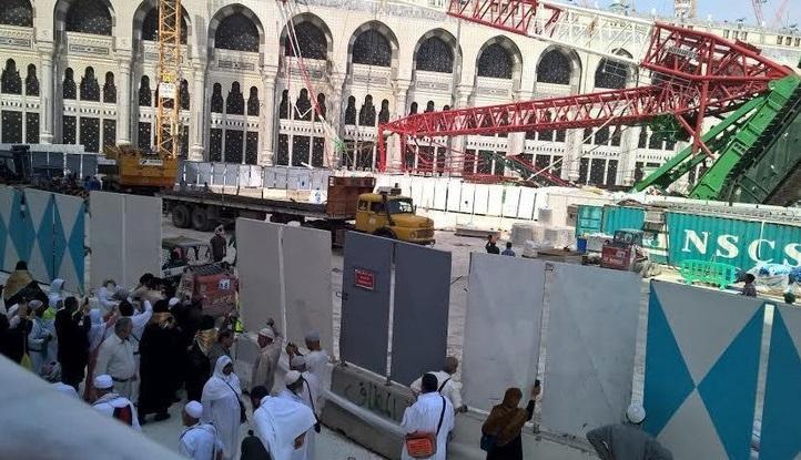 Santunan Korban Crane Jatuh Jemaah Haji Asal Indonesia, Arab Saudi Serahkan Cek Rp 85 Miliar