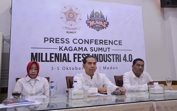 Millenial Fest Industri 4.0 oleh KAGAMA Sumut, Digelar 3-5 Oktober 2019 Mendatang