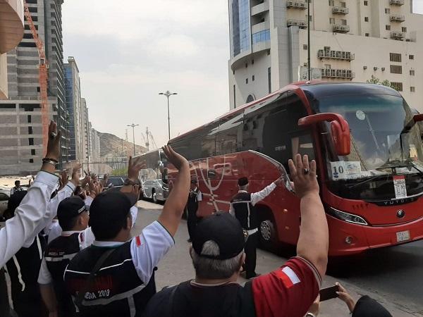 Dirjen PHU Lepas Kloter Terakhir dari Makkah Menuju Madinah