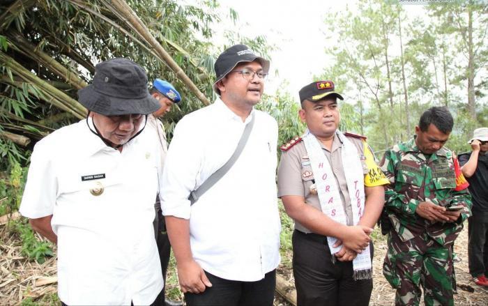 Polres Tobasa Damaikan Konflik Antara BPODT Dengan Masyarakat