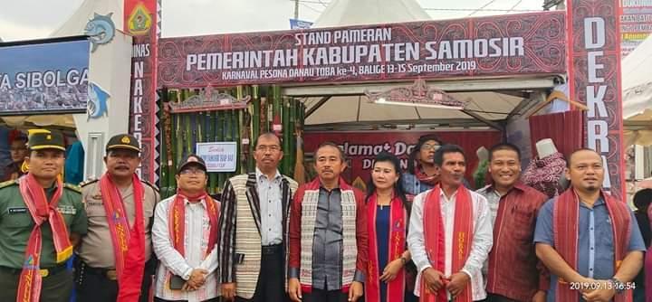 Karnaval Pesona Danau Toba ke-4 di Balige, Wabup Tobasa Berharap Daerah di Toba Punya Kuliner Khas