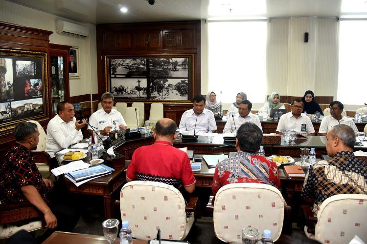 Percepat Penanggulangan Banjir di Sumut, Gubernur Sambut Baik Konsep dari Kementerian PUPR