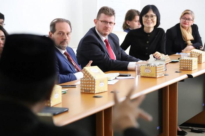 Soal Regulasi Halal, Delegasi Uni Eropa Kunjungi BPJPH Kemenag RI