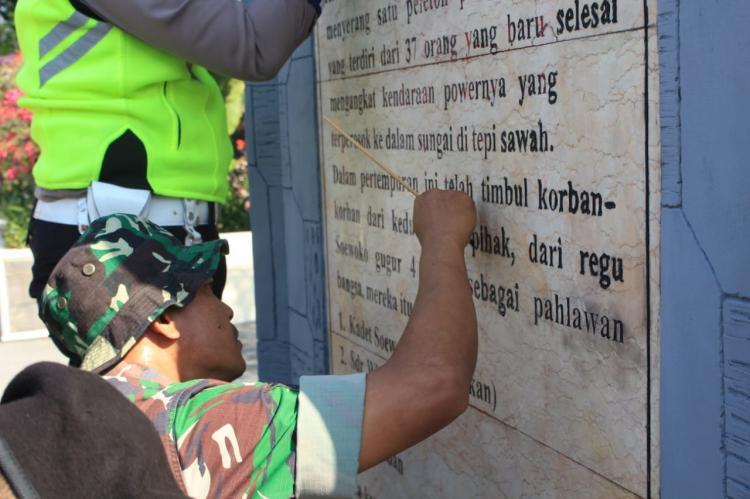 Gencarkan Semangat Anti Vandalisme, Kodim Lamongan Libatkan Komponen Masyarakat