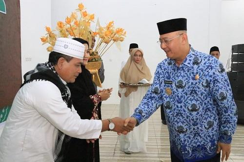 Walikota Medan Hadiri Syukuran dan Penyambutan Jemaah Haji Yang Telah Kembali