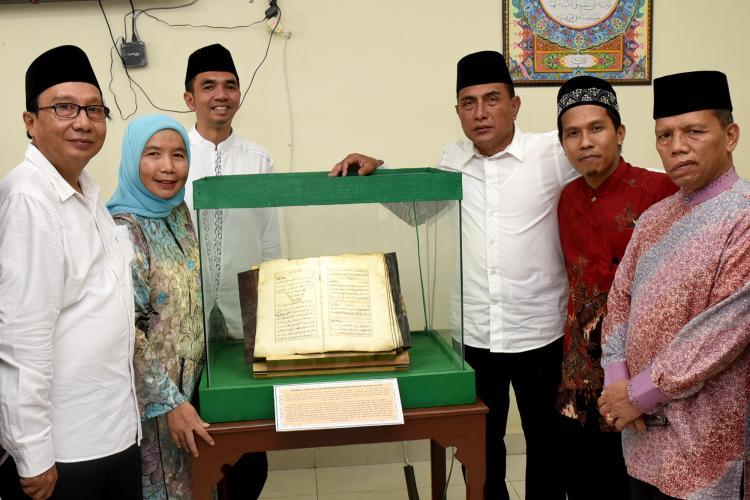 Gubernur Resmikan Museum Sejarah Alquran dan Luncurkan Mushaf Sumut