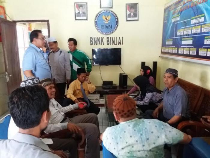 BNN Lakukan Tes Urine kepada Pengurus DMI Kota Binjai