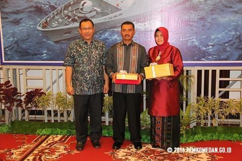 Wakil Walikota Medan Hadiri Pisah Sambut Danlantamal I