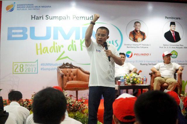 PT Pelindo 1 dan Airnav Bagikan Inspirasi ke Generasi Muda Indonesia