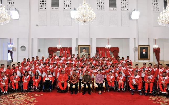Diterima Presiden Jokowi, Atlet Paragames Tanya Soal Jadi PNS, Bonus, Hingga Sepeda