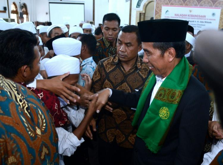 Apresiasi Santri Berprestasi, Presiden Jokowi Akan Berikan Beasiswa Melalui Seleksi