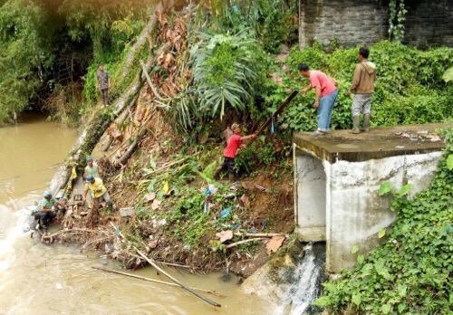 Pemko Medan Normalisasi Sungai Bekala
