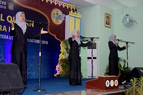 Hasil Sementara Cabang Syarhil Quran, Peserta Puteri Provinsi Aceh Unggul