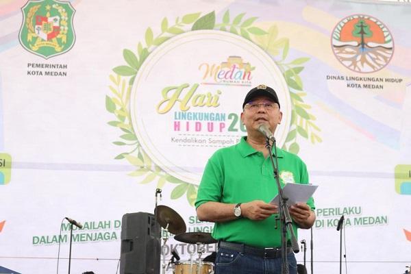 Wali Kota Medan: Lingkungan Hidup yang Terjaga Tunjukkan Jati Diri Bangsa