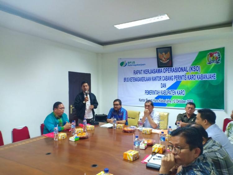 Bupati Karo Perintahkan OPD untuk Mengganggarkan Iuran Bagi Pejabat Daerah, Honorer (THL) dan Perangkat Desa