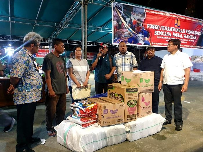 44 Pengungsi Asal Sumut Kembali ke Wamena, Gubernur Berharap Papua kembali Kondusif