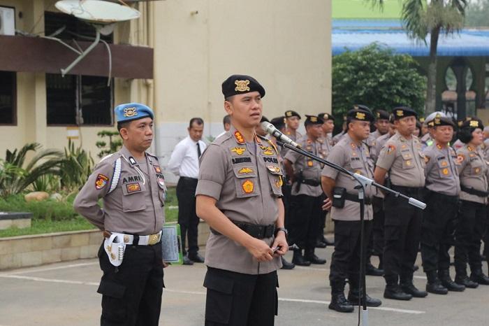 Kapolrestabes Medan Ingatkan Personel untuk Selalu Jaga Harkamtibmas
