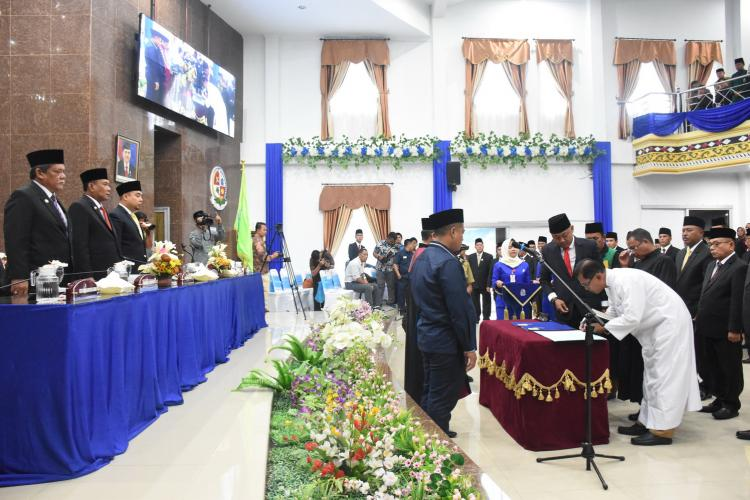 50 Anggota DPRD Deli Serdang Dilantik, Inilah Nama-Namanya