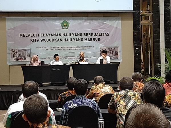Kemenag Optimis Indeks Kepuasan Haji 2019 Capai 85,30