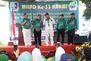Jalan Sehat Milad Kahmi, Gubernur Ingatkan Soal Syiar dan Akidah