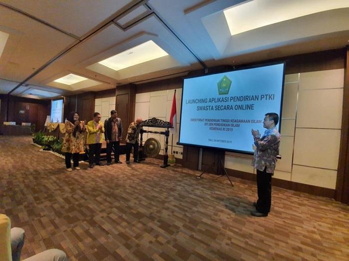 Kemenag RI Rilis Aplikasi Online untuk Izin Pendirian PTKI Swasta