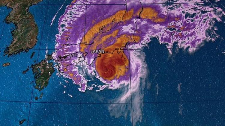 Typhoon HAGIBIS Jepang Tidak Berpengaruh Terhadap Kondisi Cuaca di Indonesia