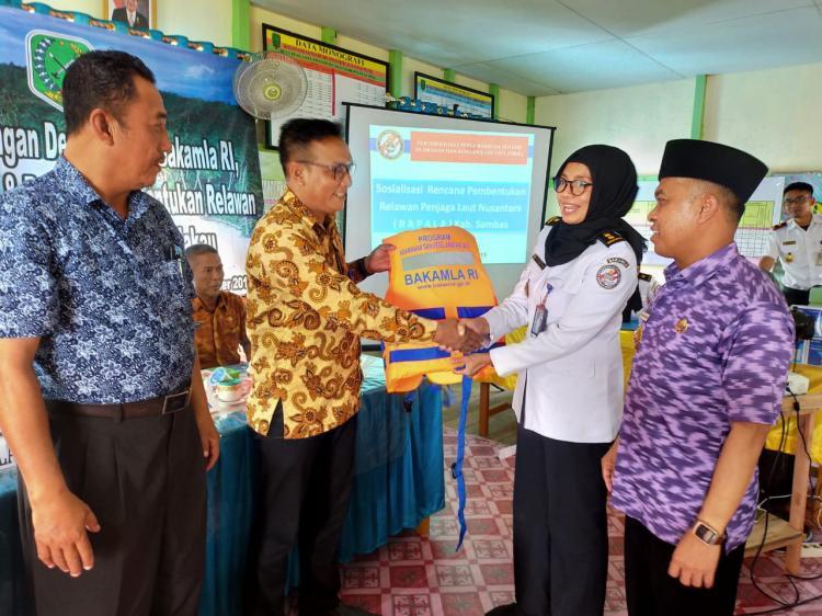 Bakamla Dorong Peran Masyarakat Desa Maritim Kuala Jaga Keamanan Keselamatan Laut