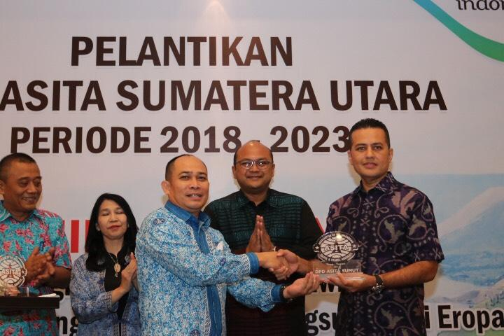 Hattrick, Solahuddin Kembali Pimpin Asita Sumut, Wagub Harapkan Sinergi Kembangkan Pariwisata