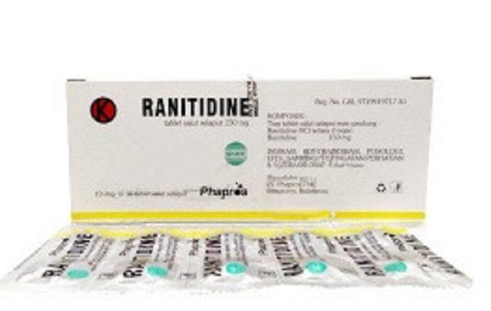 Ranitidin Tablet Tercemar NDMA, BPOM Pastikan Tarik Produk dari Pasar