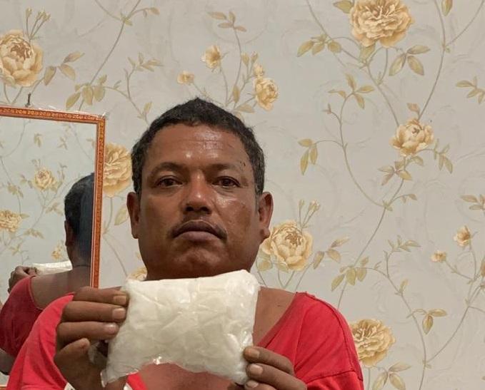 Poldasu Tangkap Jumat, Penyedia Sabu di Kabupaten Batubara