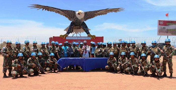 Operasi Selama Tiga Minggu, Satgas RDB Monusco Dapatkan Senjata dan Puluhan Amunisi