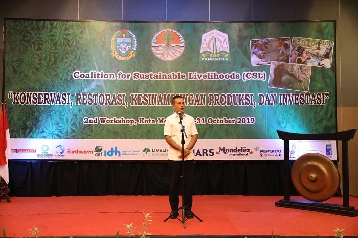 Coalition for Sustainable Livelihoods 2019, Wagub: Upaya Konservasi Harus Dilakukan Bersama