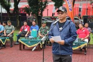 Walikota Medan Hadiri Pembukaan Pertandingan Bola Volly Pelajar Tingkat SLTA di Wilayah Kodim
